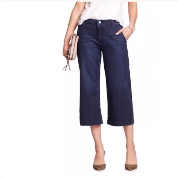 Banana Republic Denim - 4/$20 Banana Republic High Rise Wide Cropped Jeans